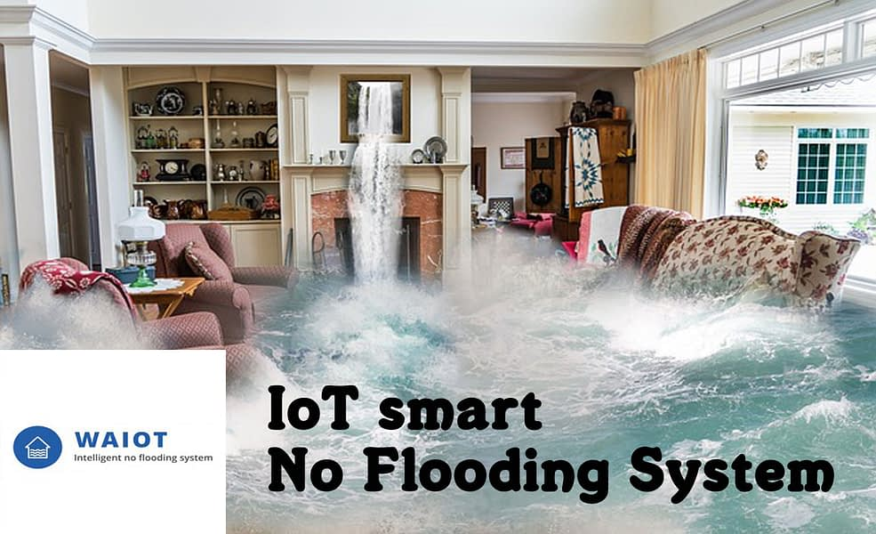 WaIoT – smart IoT no flooding system