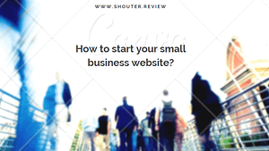 How to start your small business website