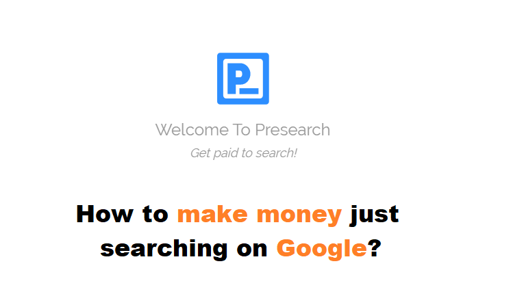 How to Make Money Online Just Searching on Google