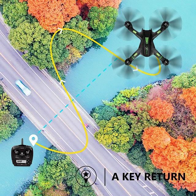 LBLA FPV Drone A key return