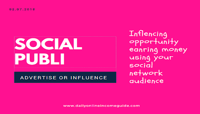SocialPubli Review Updated: Influencing opportunity earning money
