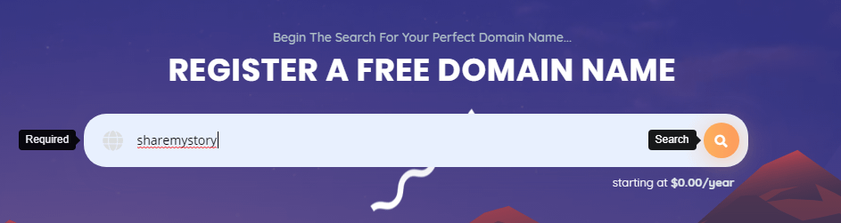 Free Domain and Hosting?