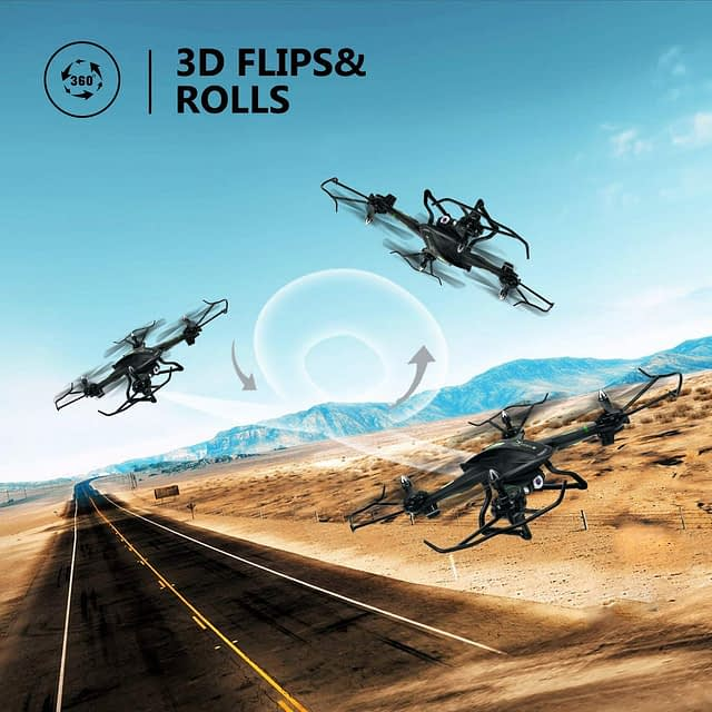 LBLA FPV Drone 3D Flips