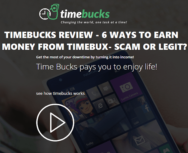 Timebucks Review: Is it Legit or Scam? Earn money free Updated