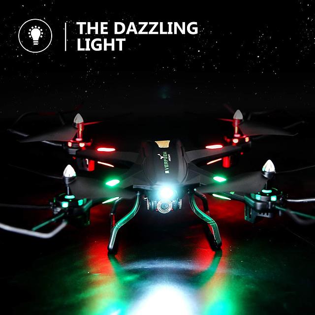 LBLA FPV Drone the dazzling light