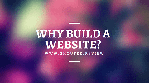 Why should build a website?