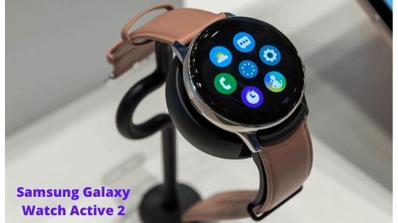 Best for Overall: Samsung Galaxy Watch Active 2