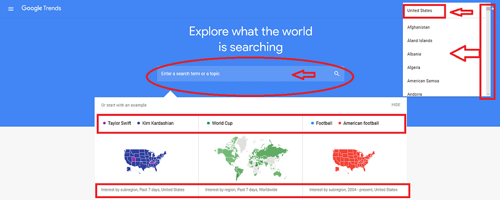 Google Trends - Explore the world is searching