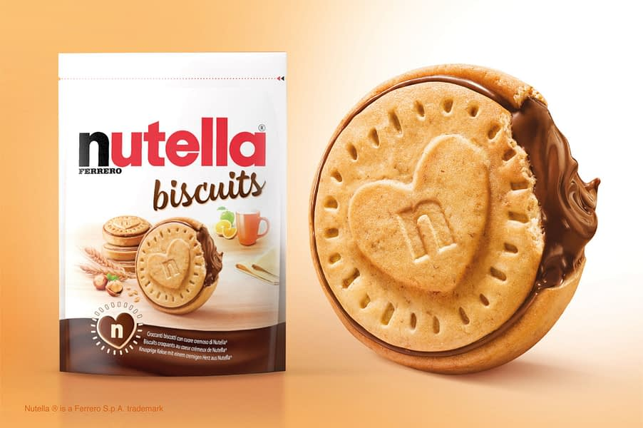 Nutella Biscuits Free Gift For Italy