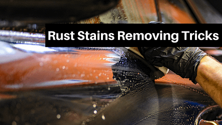 Rust Stains Removing Tricks From Sinks
