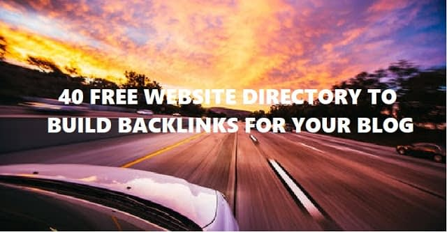 62 Website Directories To Get Links Back Free