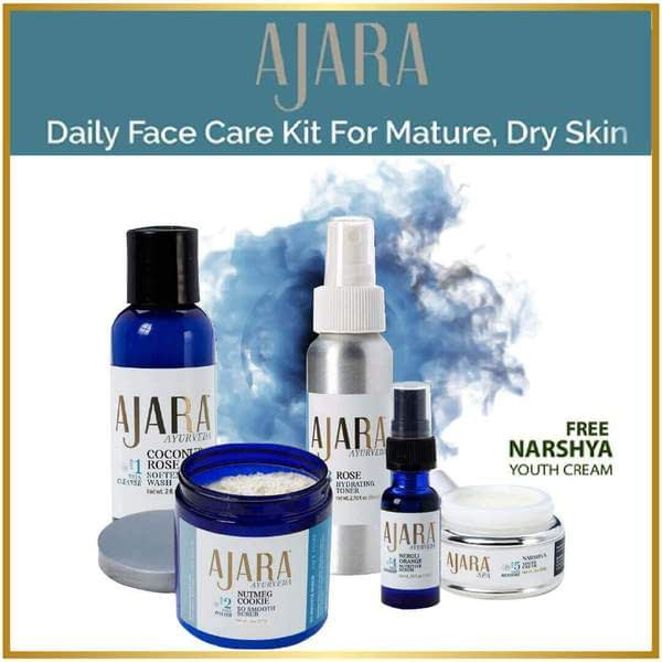 Face Care Kit for Mature or Dry Skin